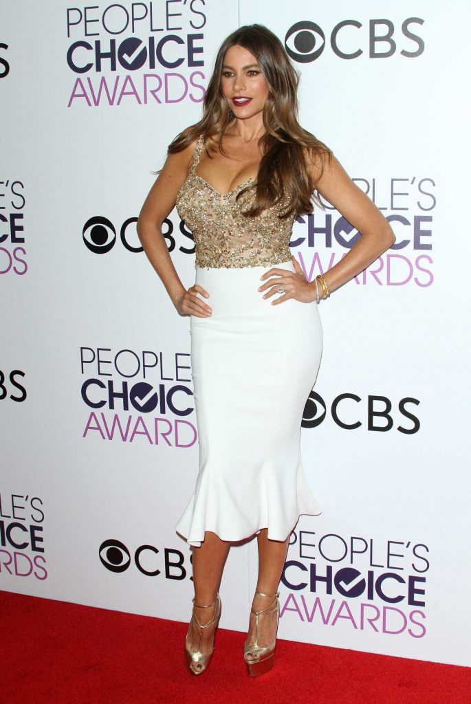 Sofia Vergara at the 43rd Annual People's Choice Awards in Los Angeles-1