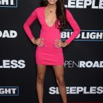 Teala Dunn at the Sleepless Premiere in Los Angeles