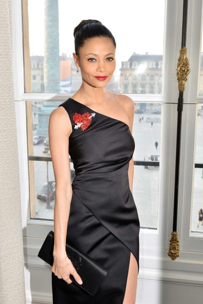 Thandie Newton at the 2017 Schiaparelli Haute Couture Show in Paris-3