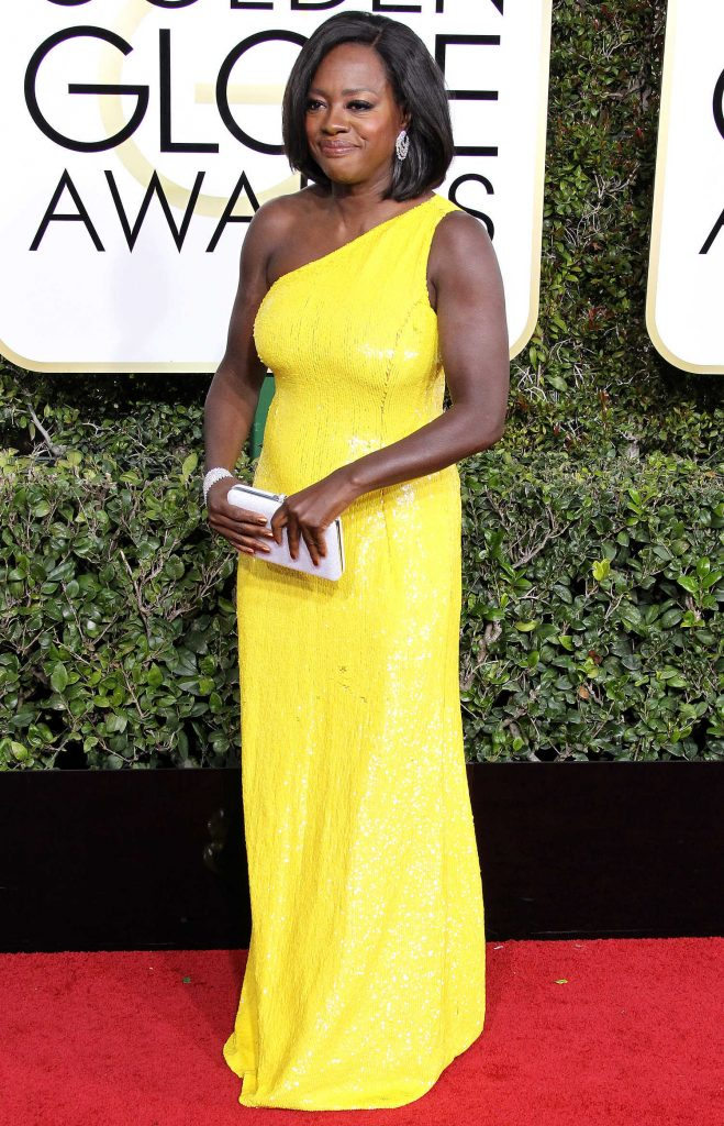 Viola Davis at the 74th Annual Golden Globe Awards in Beverly Hills-1
