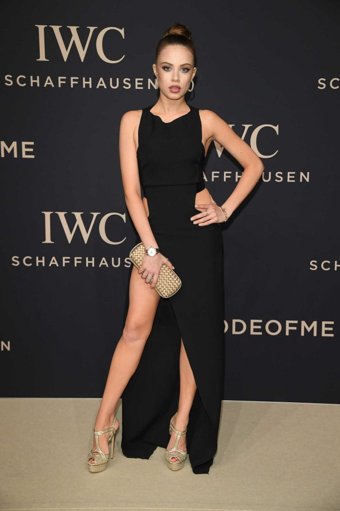 Xenia Tchoumitcheva at the IWC Gala Decoding the Beauty of Time in Geneva-1