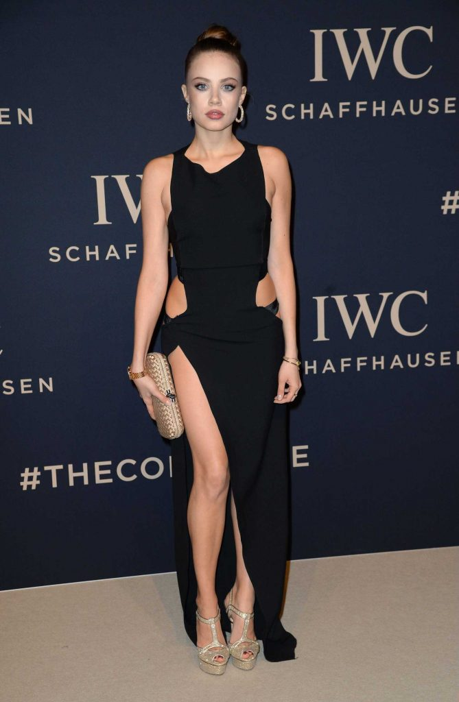 Xenia Tchoumitcheva at the IWC Gala Decoding the Beauty of Time in Geneva-2