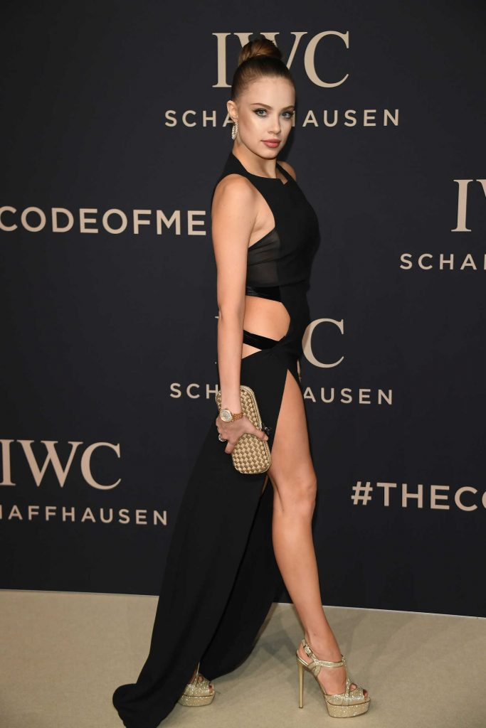 Xenia Tchoumitcheva at the IWC Gala Decoding the Beauty of Time in Geneva-3