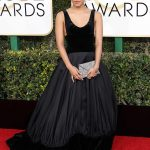 Zazie Beetz at the 74th Annual Golden Globe Awards in Beverly Hills