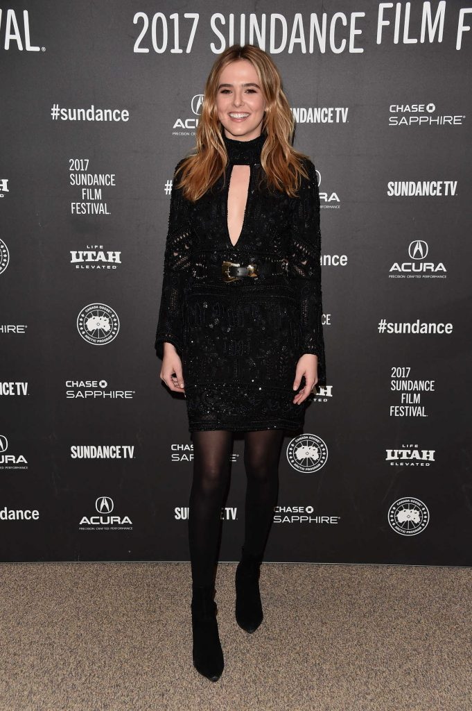 Zoey Deutch at the Rebel in the Rye Premiere During the 2017 Sundance Film Festival in Park City-3