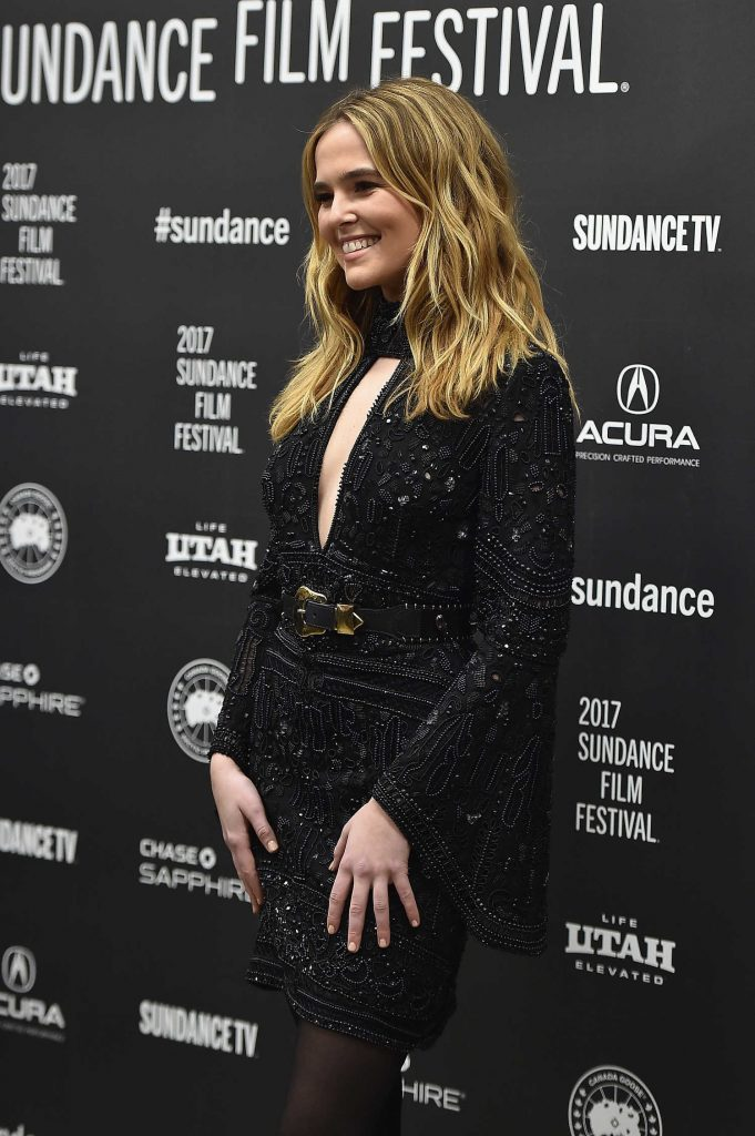 Zoey Deutch at the Rebel in the Rye Premiere During the 2017 Sundance Film Festival in Park City-4