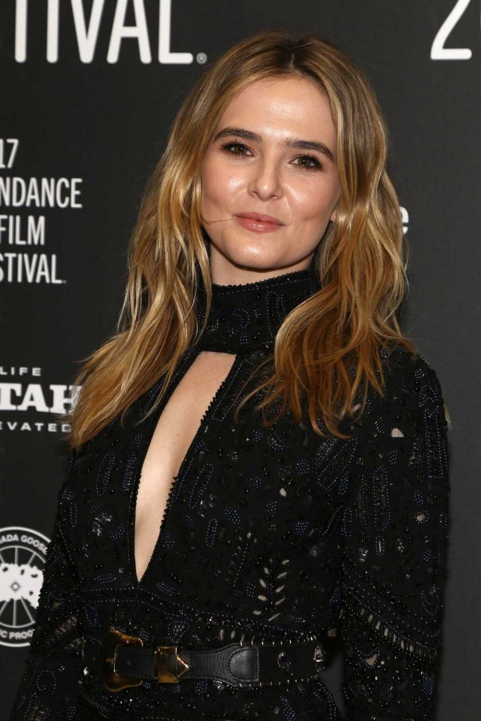 Zoey Deutch at the Rebel in the Rye Premiere During the 2017 Sundance Film Festival in Park City-5
