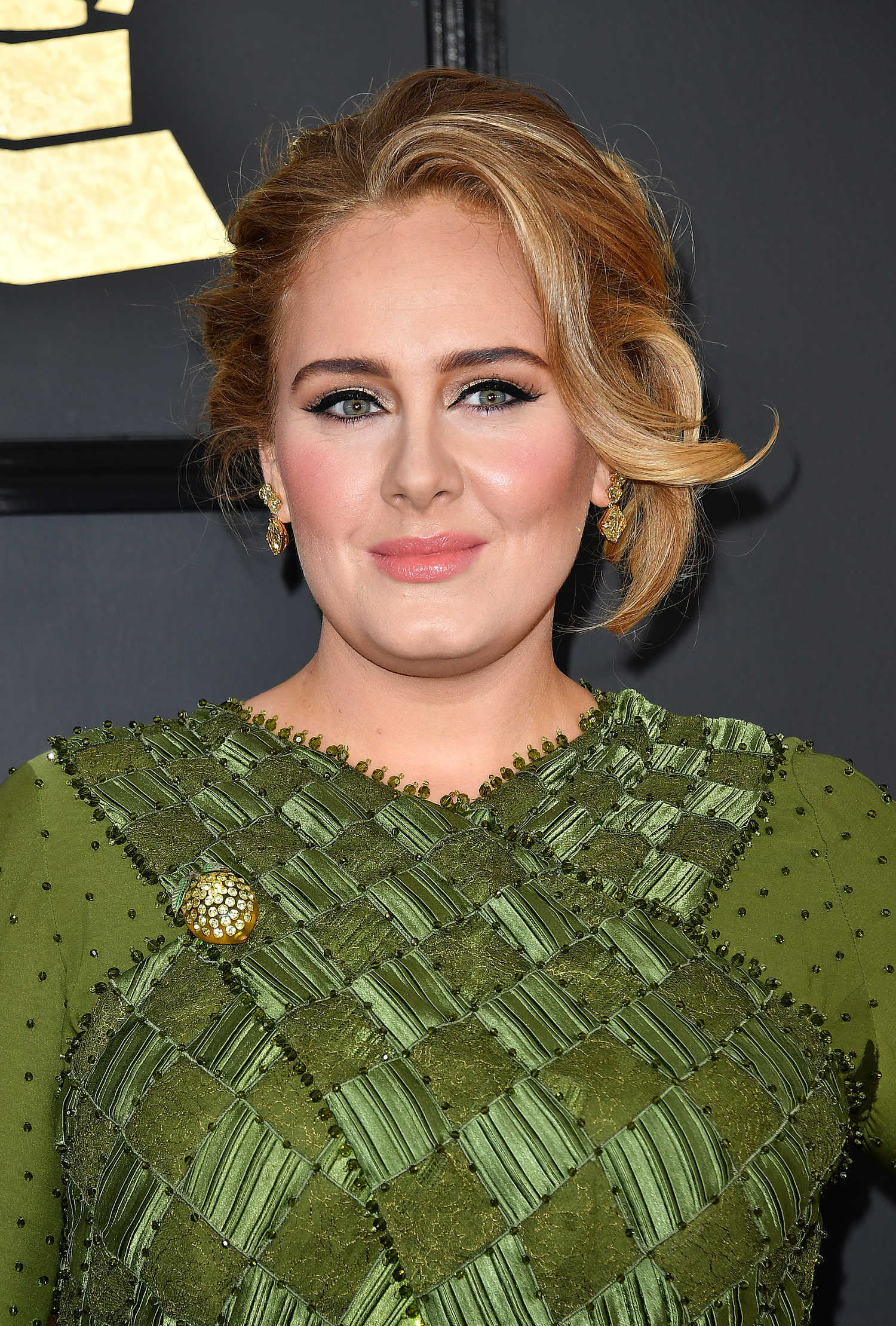 Adele at the 59th Grammy Awards in Los Angeles – Celeb Donut Emily Blunt