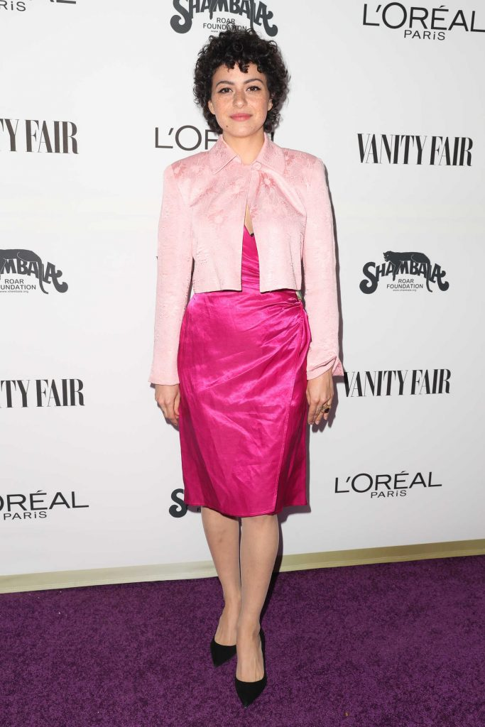 Alia Shawkat at the Vanity Fair and L'Oreal Paris Toast to Young Hollywood at Delilah in West Hollywood-1