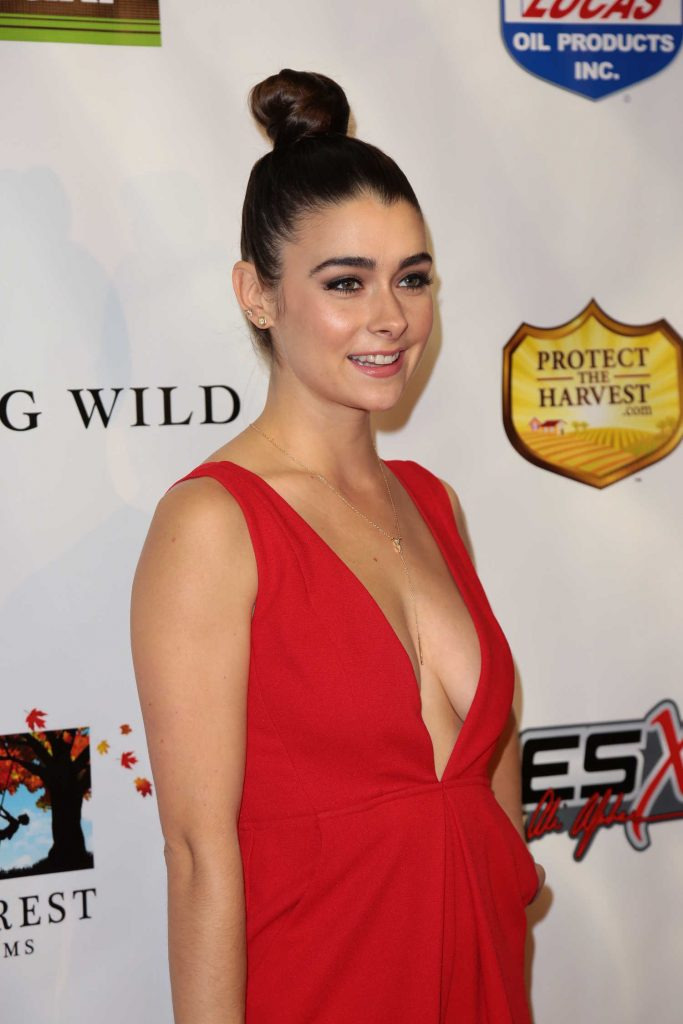 Allison Paige at the Sony Pictures Running Wild Premiere at TCL Chinese Theatre in Hollywood-5