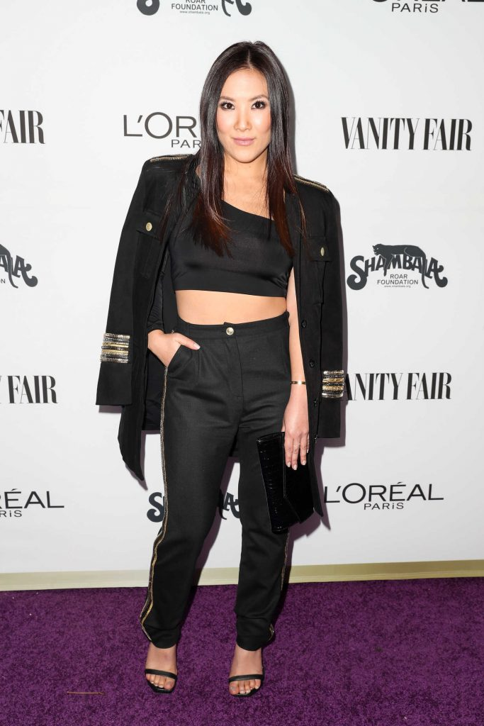 Ally Maki at the Vanity Fair and L'Oreal Paris Toast to Young Hollywood at Delilah in West Hollywood-1
