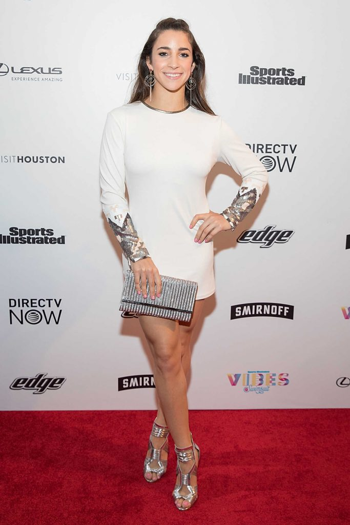 Aly Raisman at the 2017 Sports Illustrated Swimsuit Vibes Festival in Houston-1