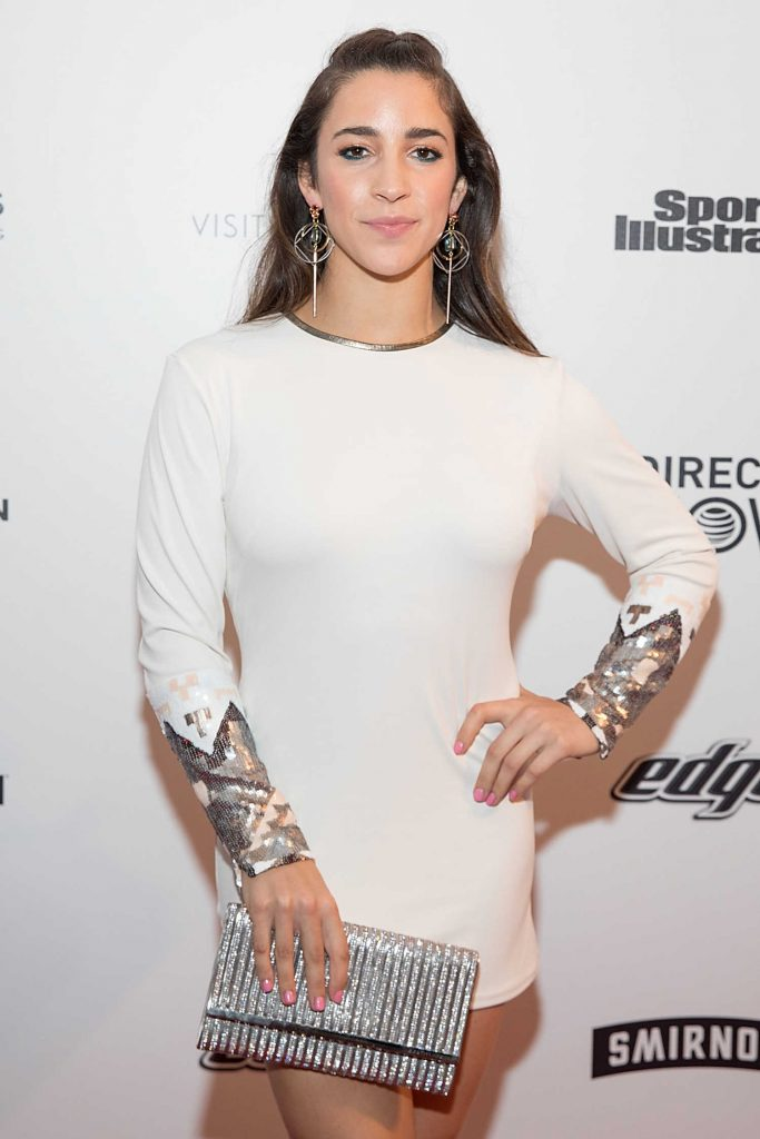 Aly Raisman at the 2017 Sports Illustrated Swimsuit Vibes Festival in Houston-2