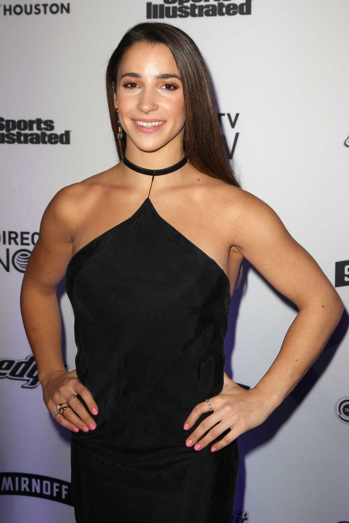 Aly Raisman at the Sports Illustrated Swimsuit Edition Launch Event in New York-5