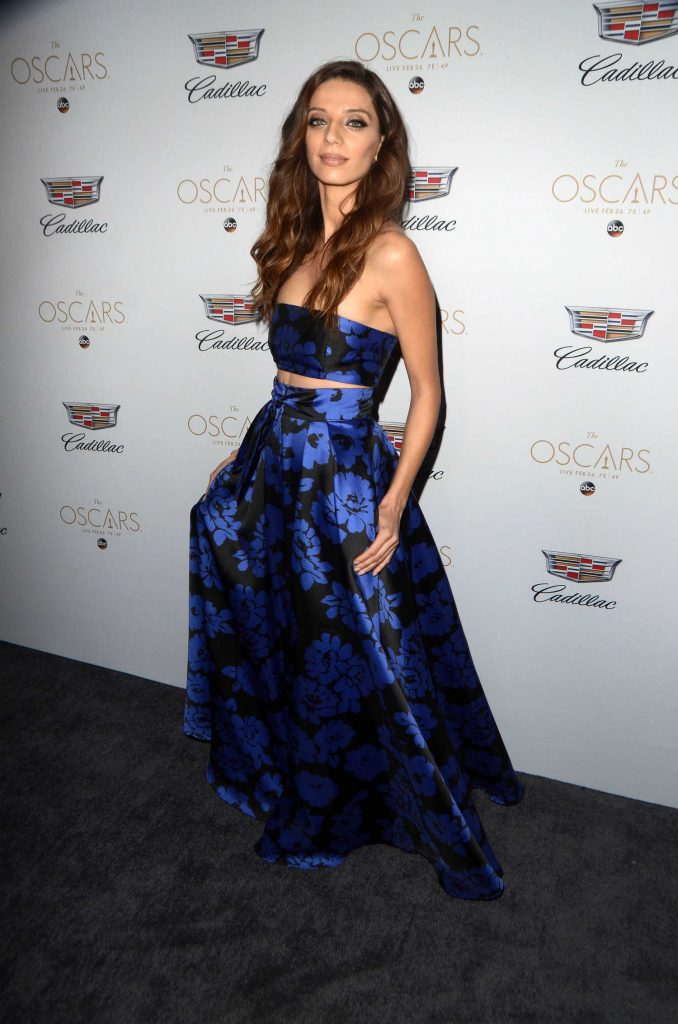 Angela Sarafyan at the Cadillac Celebrates the 89th Annual Academy Awards in Los Angeles-2