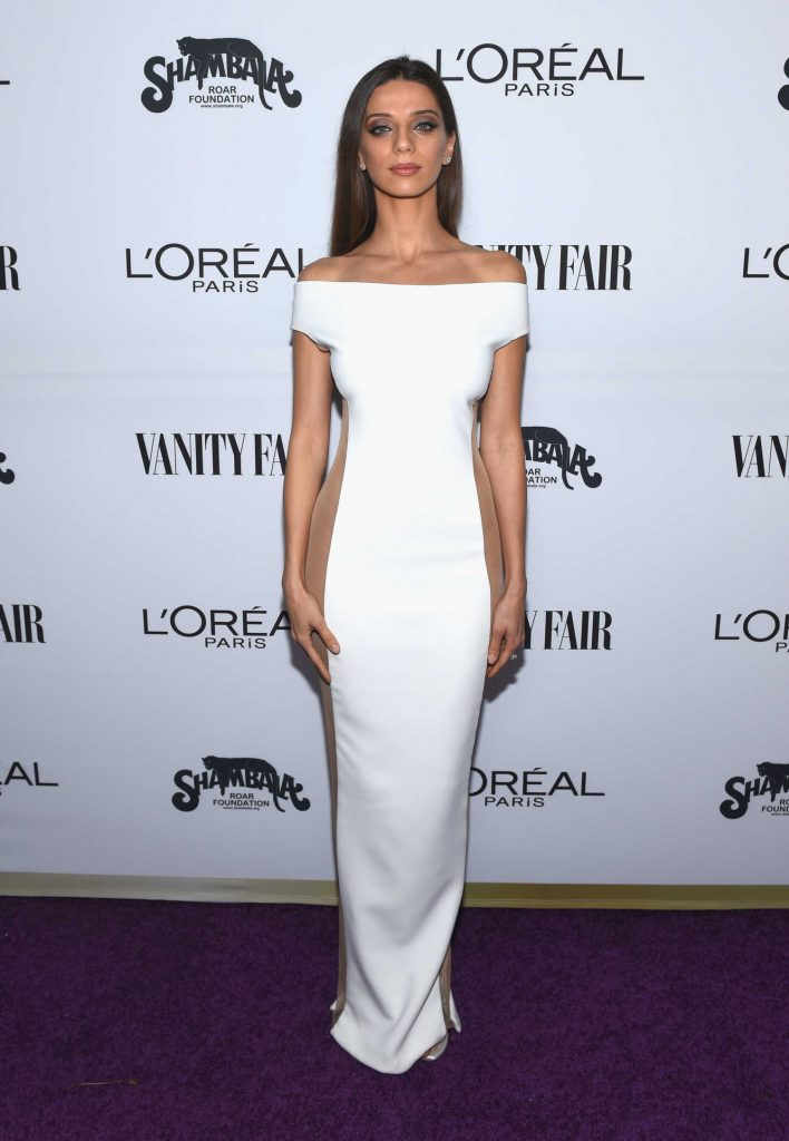Angela Sarafyan at the Vanity Fair and L'Oreal Paris Toast to Young Hollywood at Delilah in West Hollywood-1