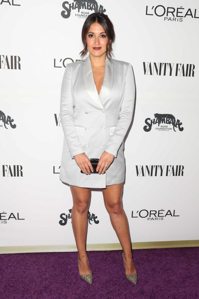 Angelique Cabral at the Vanity Fair and L'Oreal Paris Toast to Young Hollywood at Delilah in West Hollywood-1