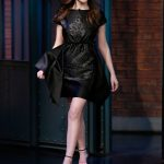 Anna Kendrick at the Late Night With Seth Meyers