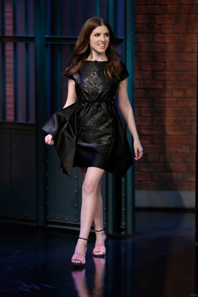 Anna Kendrick at the Late Night With Seth Meyers-1