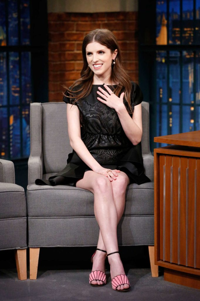Anna Kendrick at the Late Night With Seth Meyers-3
