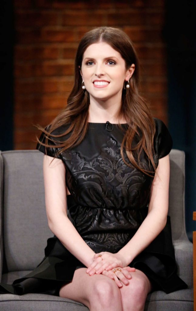 Anna Kendrick at the Late Night With Seth Meyers-5