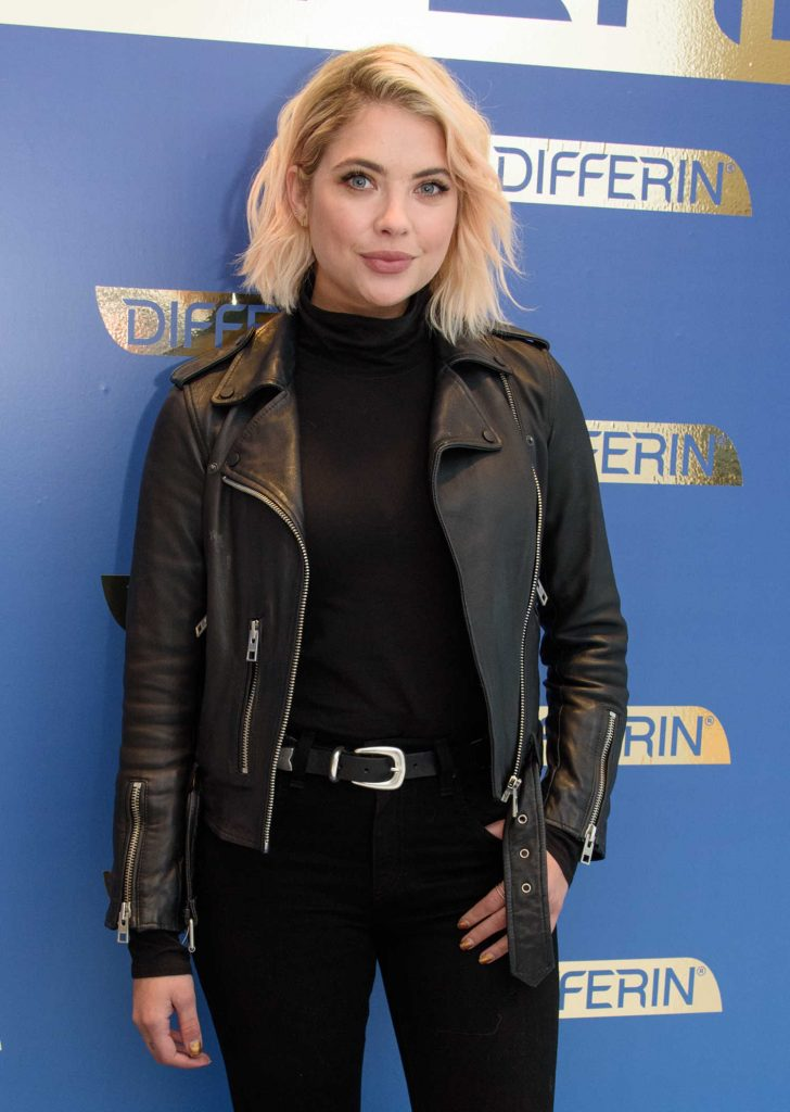 Ashley Benson Celebrates Launch of Differin Gel in New York-3