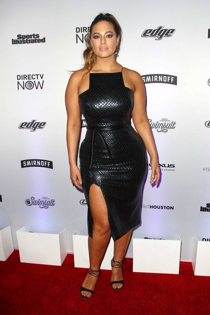 Ashley Graham at the Sports Illustrated Swimsuit Edition Launch Event in New York-1