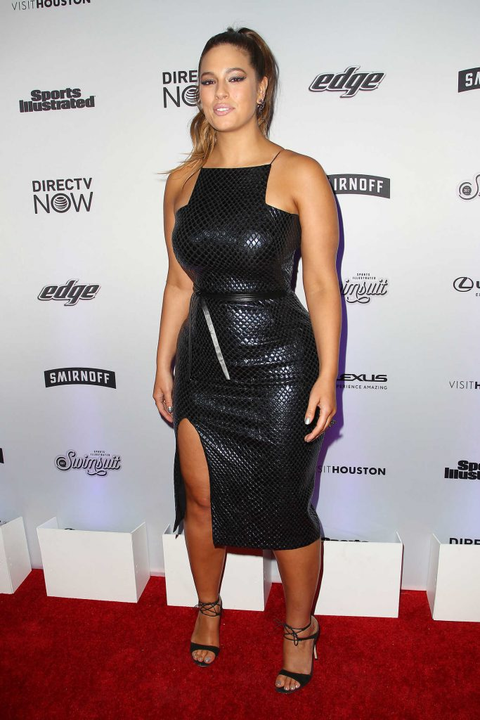 Ashley Graham at the Sports Illustrated Swimsuit Edition Launch Event in New York-2