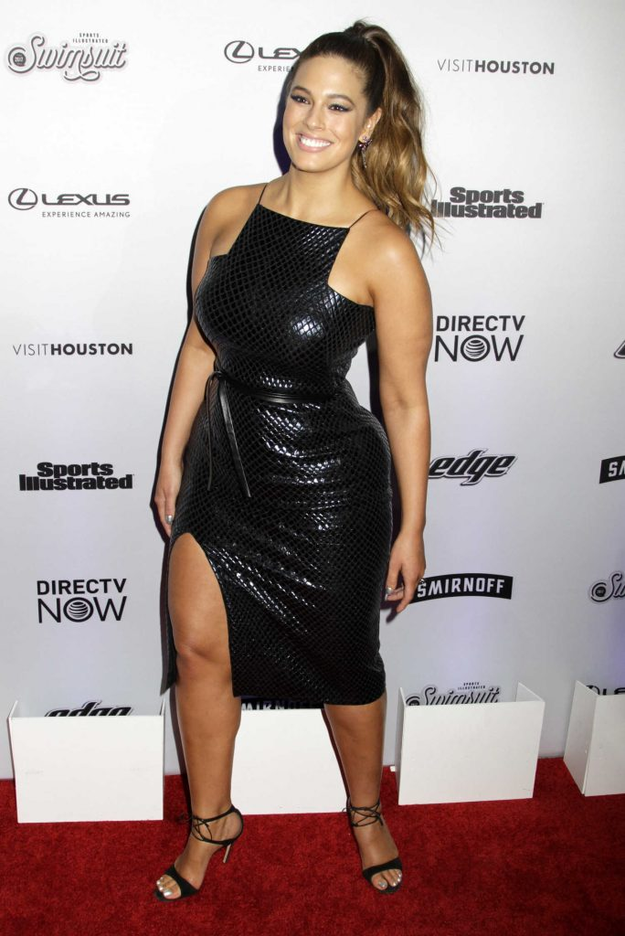 Ashley Graham at the Sports Illustrated Swimsuit Edition Launch Event in New York-4