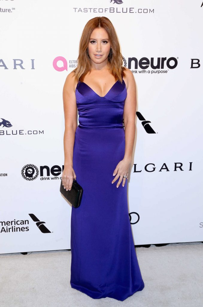 Ashley Tisdale at the 25th Elton John AIDS Foundation Academy Awards Viewing Party in Los Angeles-1