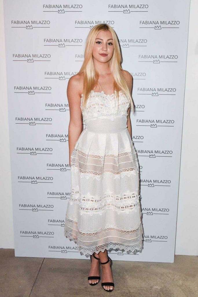 Ava Sambora at the Fabiana Milazzo Store Opening in Los Angeles-1
