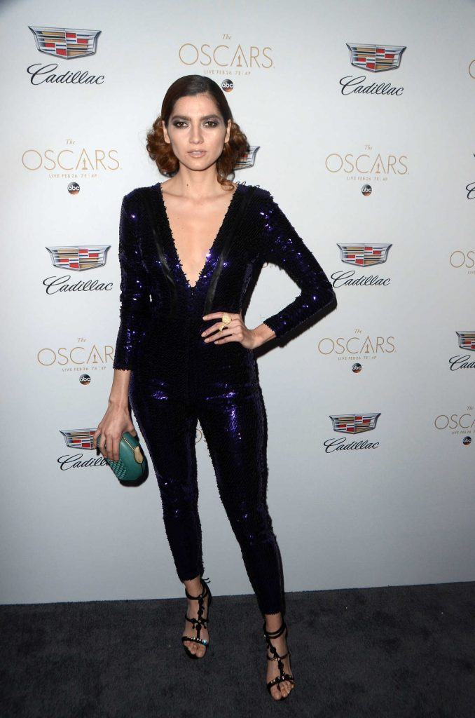 Blanca Blanco at the Cadillac Celebrates the 89th Annual Academy Awards in Los Angeles-1