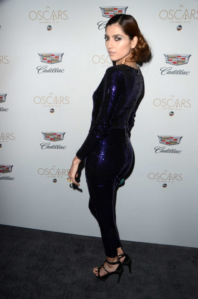 Blanca Blanco at the Cadillac Celebrates the 89th Annual Academy Awards in Los Angeles-3