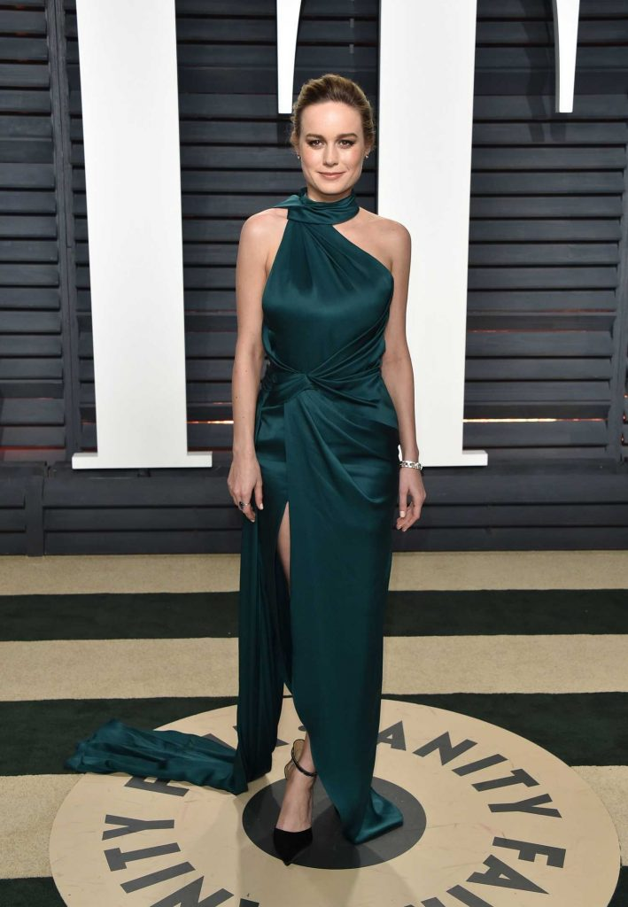 Brie Larson at the 2017 Vanity Fair Oscar Party in Beverly Hills-1