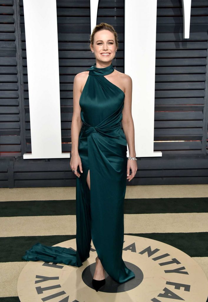 Brie Larson at the 2017 Vanity Fair Oscar Party in Beverly Hills-2