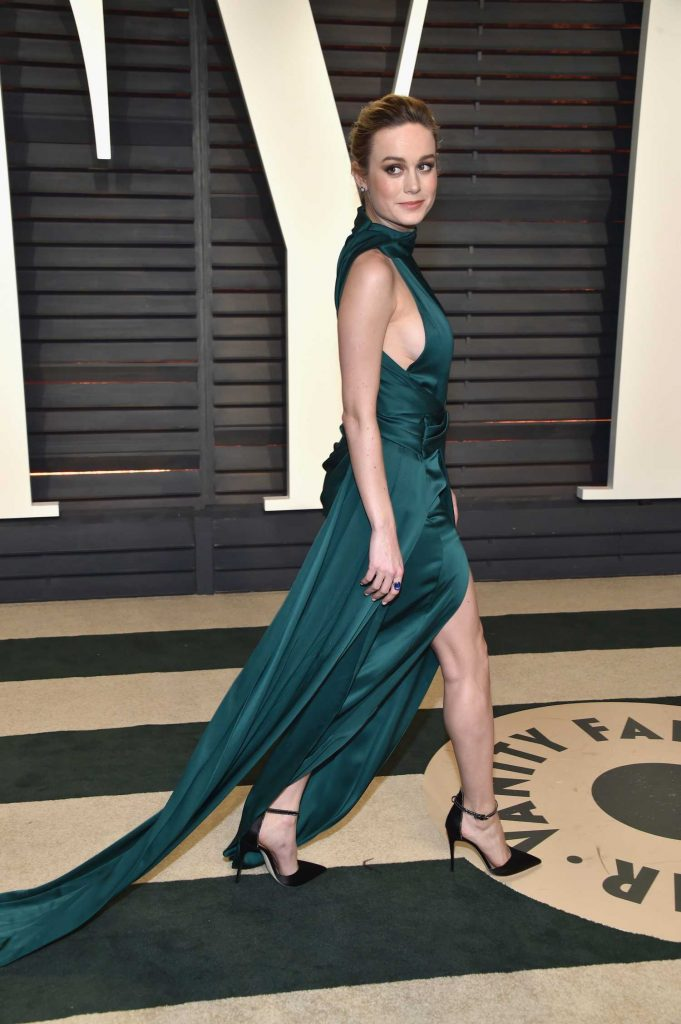 Brie Larson at the 2017 Vanity Fair Oscar Party in Beverly Hills-3