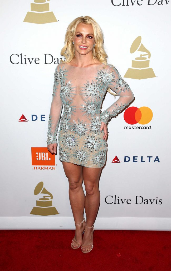 Britney Spears at the Clive Davis Pre-Grammy Party in Los Angeles-1