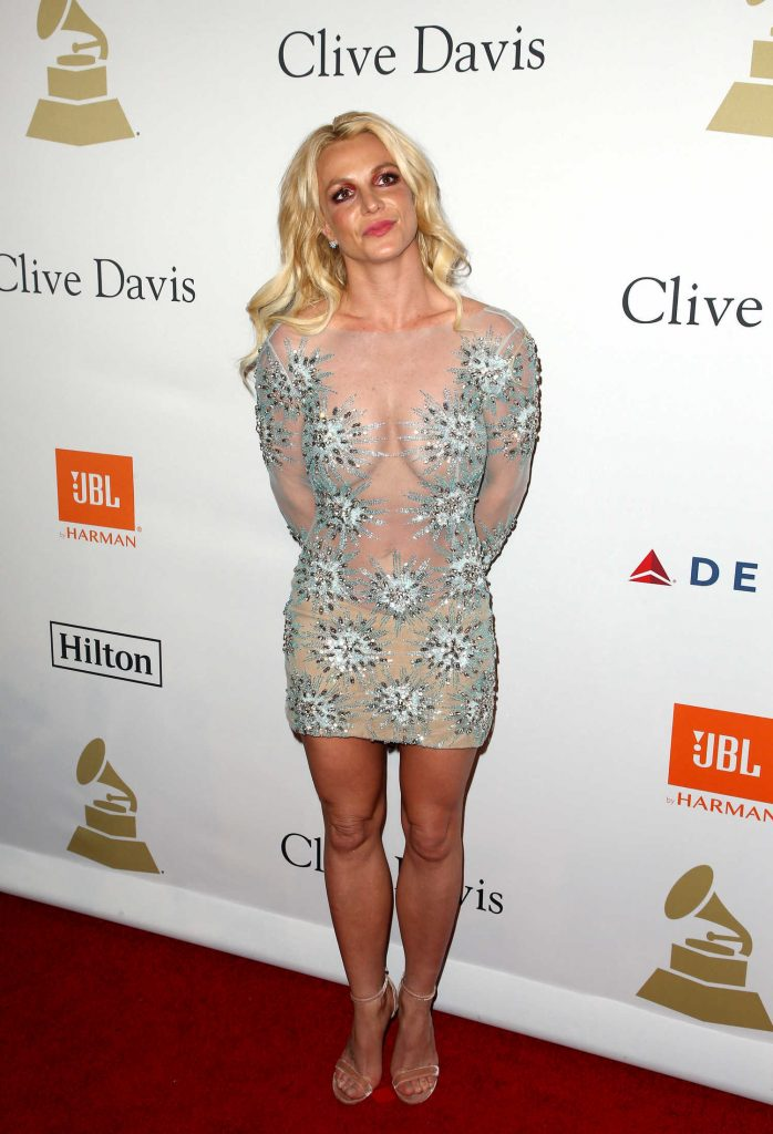 Britney Spears at the Clive Davis Pre-Grammy Party in Los Angeles-2