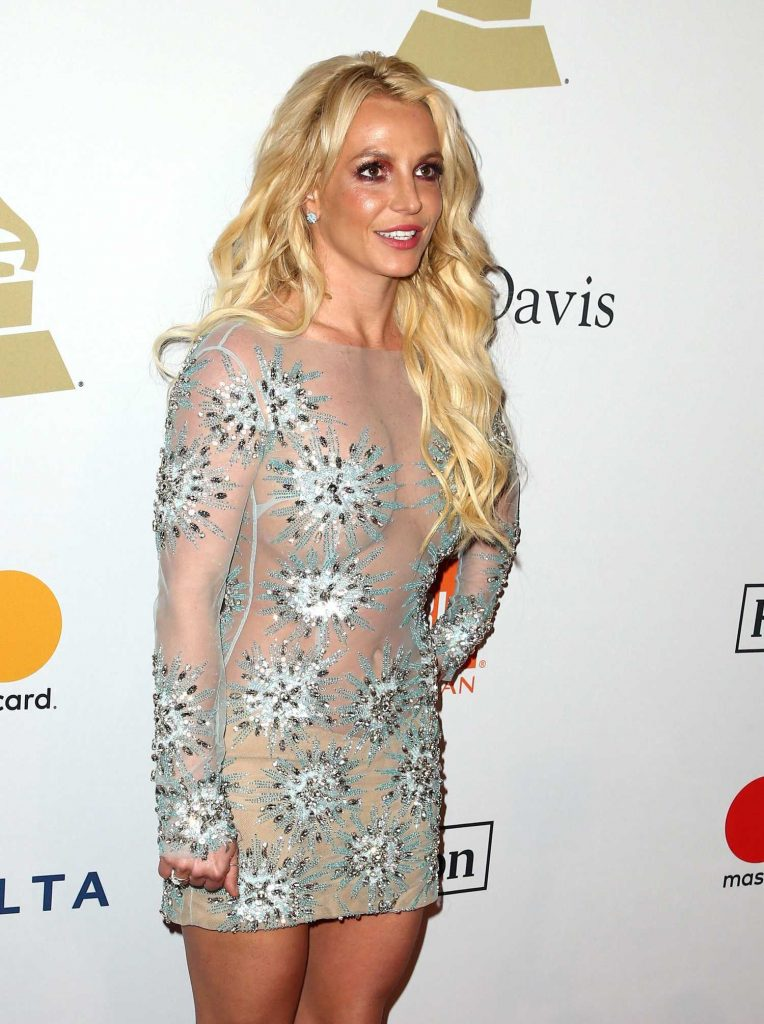 Britney Spears at the Clive Davis Pre-Grammy Party in Los Angeles-4