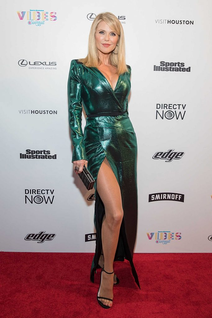 Christie Brinkley at the 2017 Sports Illustrated Swimsuit Vibes Festival in Houston-3