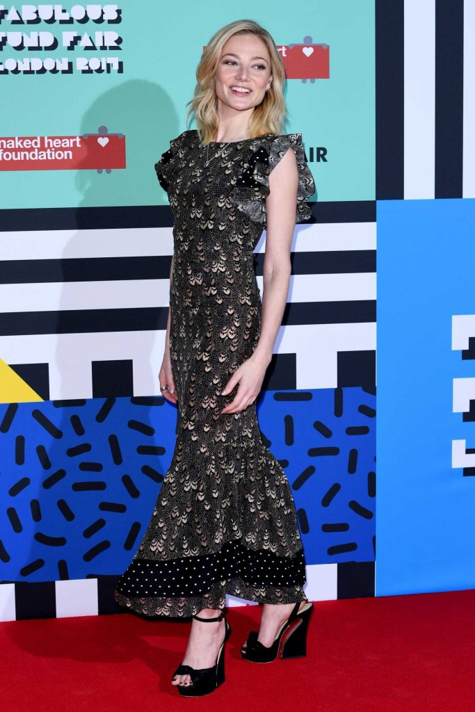 Clara Paget at the Naked Heart Foundation Fabulous Fund Fair in London-2