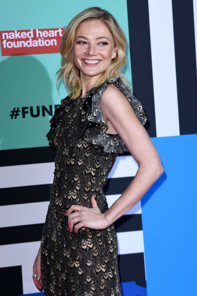 Clara Paget at the Naked Heart Foundation Fabulous Fund Fair in London-4