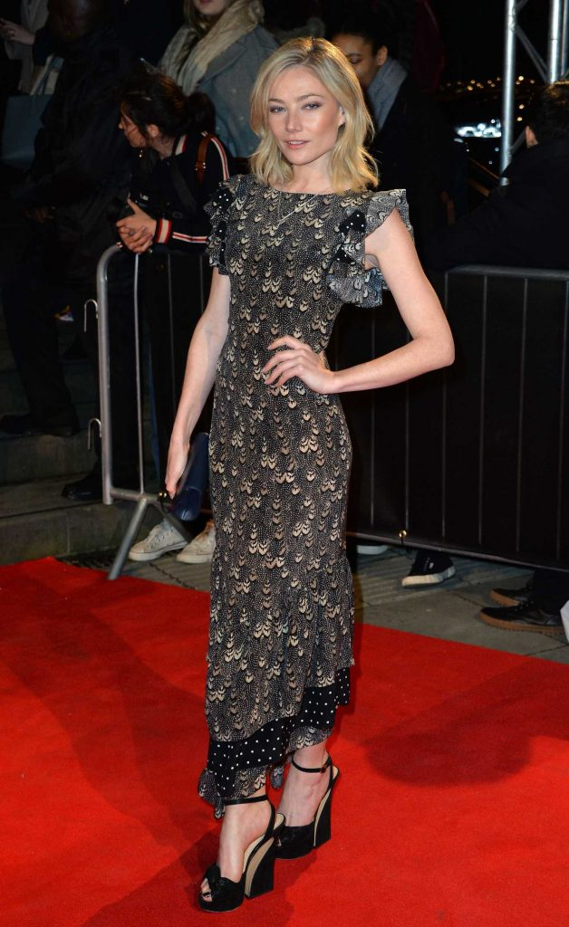 Clara Paget at the Naked Heart Foundation Fabulous Fund Fair in London-5