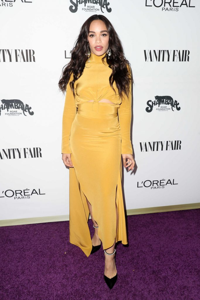 Cleopatra Coleman at the Vanity Fair and L'Oreal Paris Toast to Young Hollywood at Delilah in West Hollywood-1