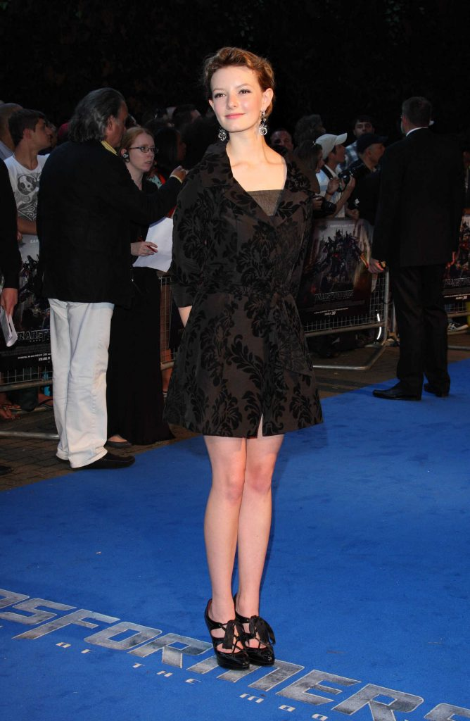 Dakota Blue Richards at the Transformers Dark of The Moon UK Premiere in London-1