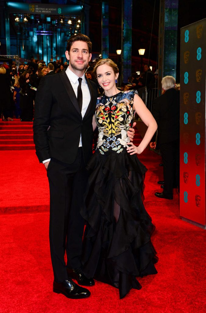 Emily Blunt at the 70th Annual EE British Academy Film Awards in London-4