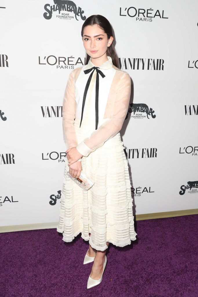 Emily Robinson at the Vanity Fair and L'Oreal Paris Toast to Young Hollywood at Delilah in West Hollywood-1