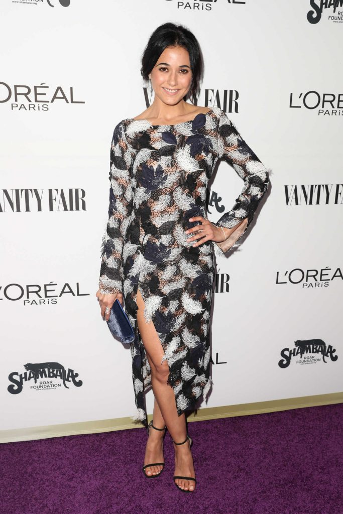 Emmanuelle Chriqui at the Vanity Fair and L'Oreal Paris Toast to Young Hollywood at Delilah in West Hollywood-1