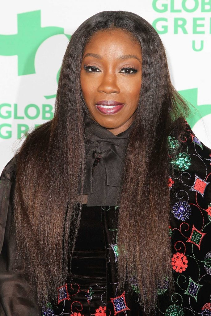 Estelle at the Global Green's Annual Pre-Oscar Party in Los Angeles-3