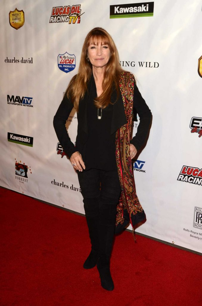 Jane Seymour at the Sony Pictures Running Wild Premiere at TCL Chinese Theatre in Hollywood-1
